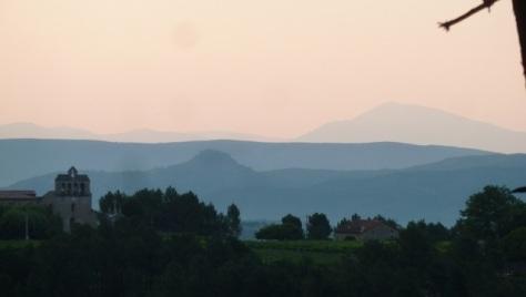 Payzac et le Mont Ventoux