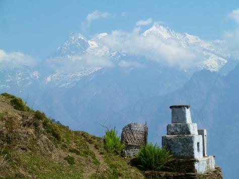 Ganesh Himal avant de redescendre sur Korlabeshi