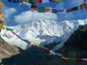 Annapurna depuis le camp de base