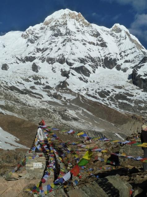 Annapurna Sud depuis le camp de base