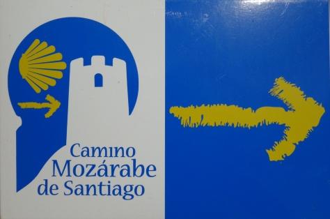 Balisage sur le camino Mozárabe