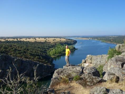 Panorama sur le río Esla