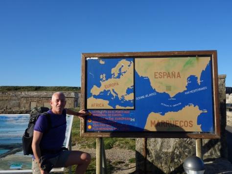 Tarifa - pointe sud de l'Espagne - 26 avril