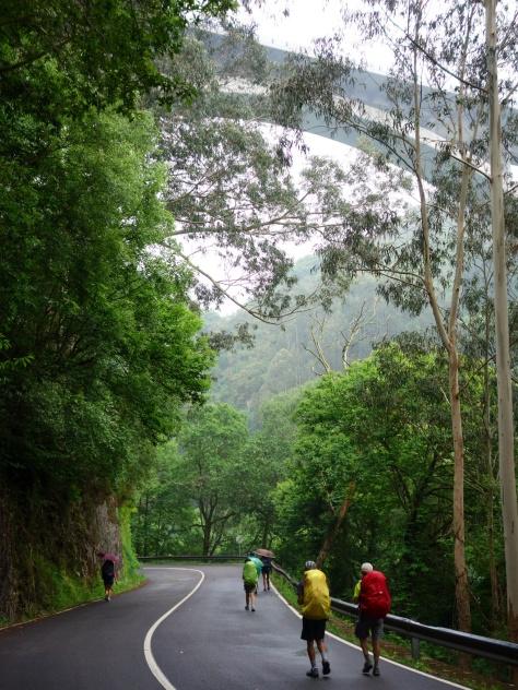 Camino Norte après Soto de Luiña