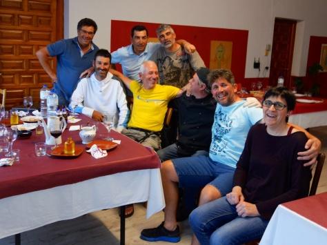 Dîner à l'Asociación Gastronómica de Rionegro del Puente