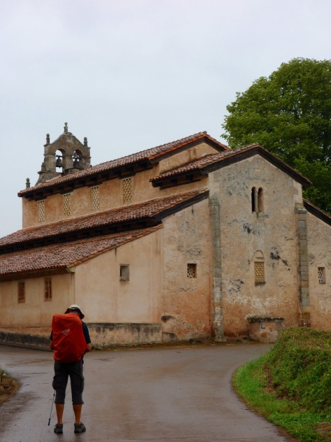 Église préromane de San Salvador de Priesca sur le Camino Norte