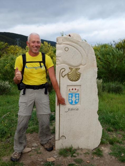 Portela da Canda - Entrée en Galice