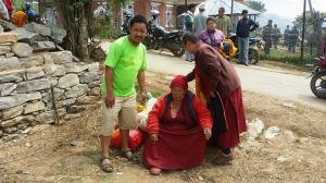Évacuation de nonnes âgées
