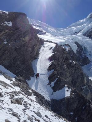 Entre le glacier de Drolambau et Trakarding