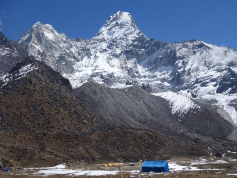 Camp de base de l'Ama Dablam
