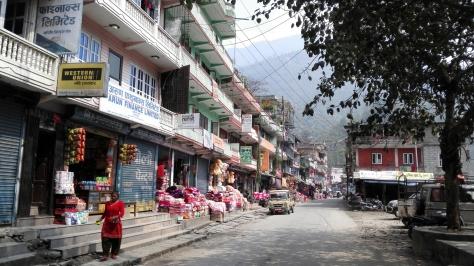 Entre Katmandou et Charikot
