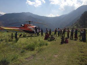 Le 23 mai à Bigu (photo Himalaya Projekt)