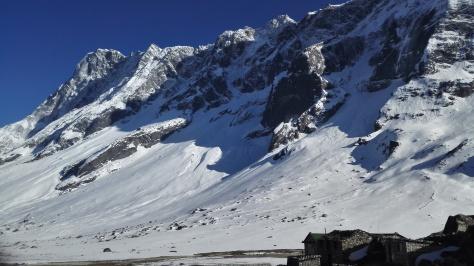 Tengpo : le lodge et le Lumding Himal