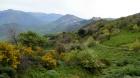 Sclafani Bagni, Caltavuturo et les Madonie dans la descente du col de Granza