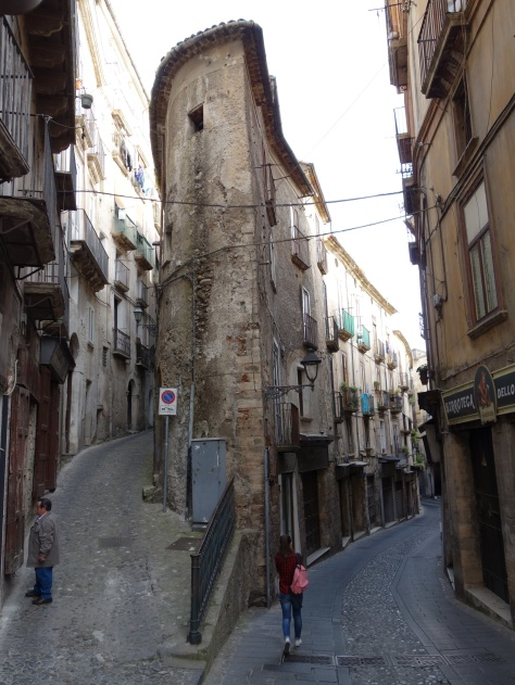 Dans la vieille ville de Cosenza