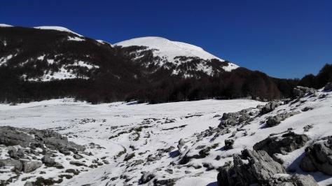 Dans le parc du Pollino, fin avril