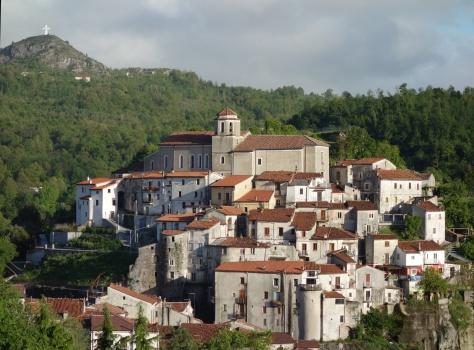 Le bourg médiéval de Lagonegro
