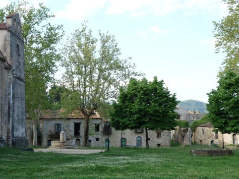 Le vieux village de Roscigno