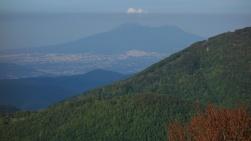 Le Vésuve vu depuis le parc régional du Partenio
