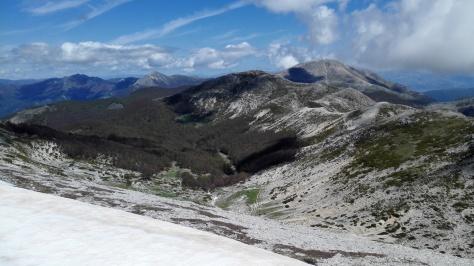 Le mont Viglio dans le parc des monts Simbruini