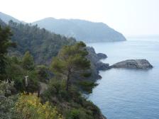 La côte ligure entre Levanto et Moneglia