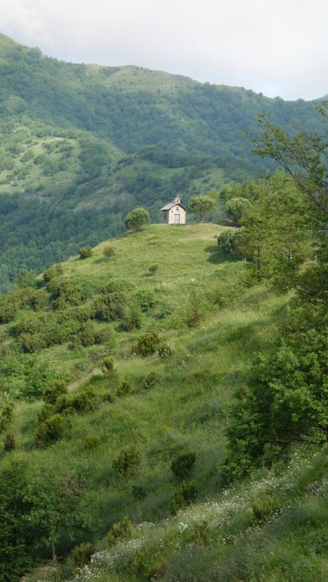 Dans les monts Ligure